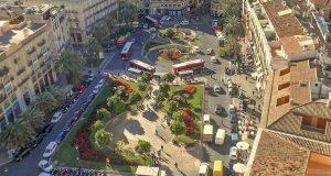 plaza de la reina reconstruction