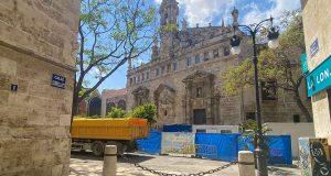 reconstruction of the mercado central